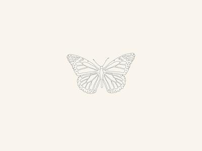 West Texas Queen Butterfly logo vector illustrator illustration design