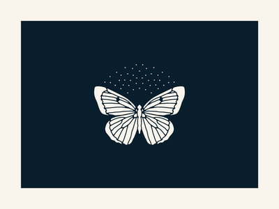 Labrador Sulphur - Montana branding illustrator vector design illustration minimal glacier national park montana butterfly