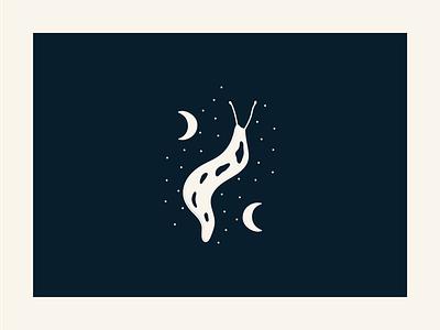 Leopard Slug - Montana branding logo icon vector illustrator minimal illustration design montana glacier national park leopard slug