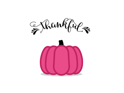 Thankful typography design debut shot hello dribbble first shot thanksgiving debut