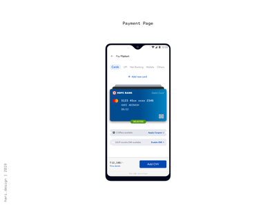 Payment Page ui deisgn ux  ui product design minimal debit card credit card payment page wallets funds transfer net banking upi card payment pay payment method payment app