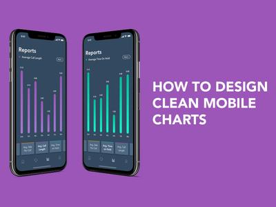 Design Simple Mobile Charts/Graphs