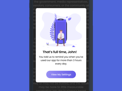 Pop-up Notification for Mobile