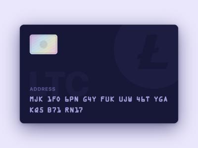 Litecoin Card