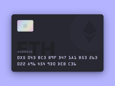 Ethereum card studio invision crypto card ethereum