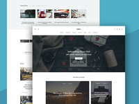 [WIP] Wordpress Blog Theme