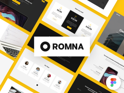 Romna Web Components for Figma