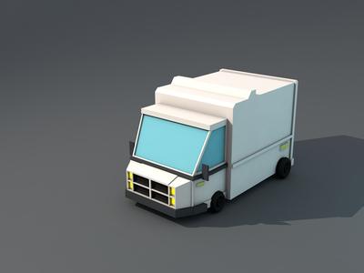 Lowpoly Truck