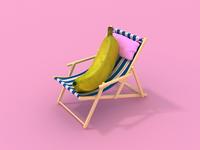 lazy banana.