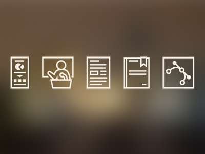 My website icons icon icons pictogram pictograms infographic visualization data visualization conference article book vector vector work