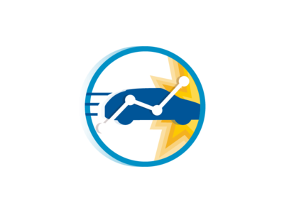 "Road traffic safety ""icon-like"" logo"