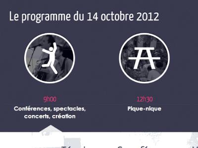 Event website homepage (detail - WIP)
