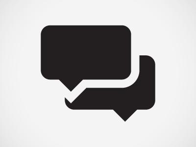 Conversation pictogram