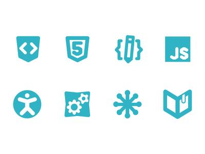 icons for WebPlatform.org