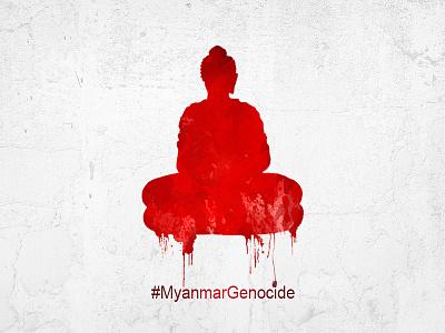Myanmar Genocide rohingya terrorism peace picchu buddha muslins stopkilling war death genocide myanmar