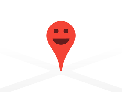 Friendly Pin happy friend icon app marker pin map