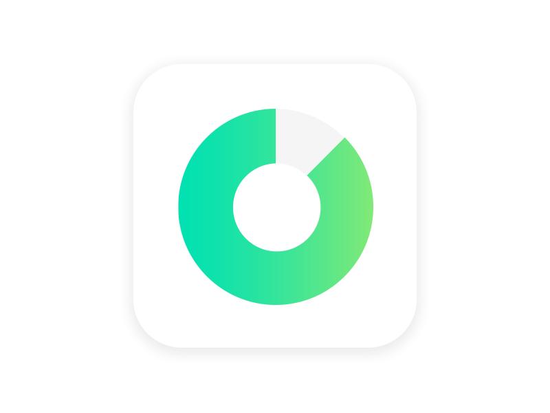cashflow app icon by samuel láska dribbble