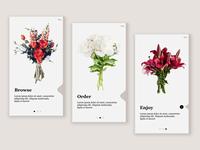 Onboarding - Bouquet App