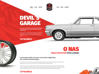 Web Design - Devils Garage