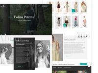 Wear Designer Landing Web Site