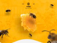 HAB landing page - укуси меня пчела