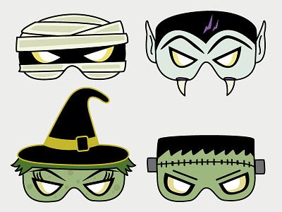 Halloween Masks diy mask halloween