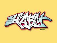 """""""HARM"""" Graffiti"""