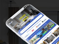MORE | Hotel Booking | Home screen