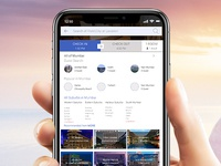 MORE | Hotel Booking Screen