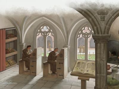 Scenes of monastic life 1