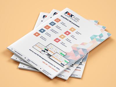 Product Brochure illustration design photoshop brochure branding graphic design