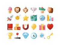 Dynargie Icons by Miew