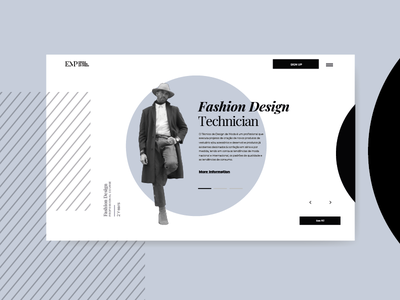 Fashion Design Homepage by Miew slider fashion type lettering typography logo brand ui ux uiux ux ui illustration identity mobile branding app interaction miew website web