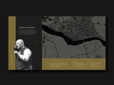 Wine Brand Website by Miew typographic design map design wine branding classic wine contacts map typography interactive ui ux uiux ux ui identity branding design interaction miew website web