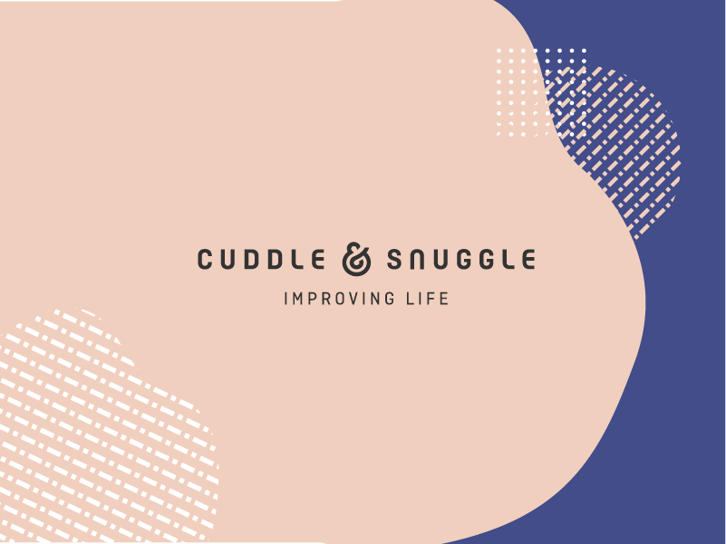 Cuddle & Snuggle Branding design pictogram iconography type minimal lettering vector illustration icon ui ux uiux identity ui ux typography miew website web logo branding