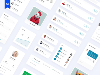 Linkedin redesign concept motion design video animation startup twitter facebook saas product design london behance filters list message search profile network kit
