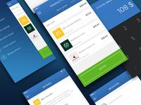 Snapscan app screens