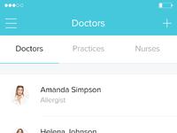 1 doctor list