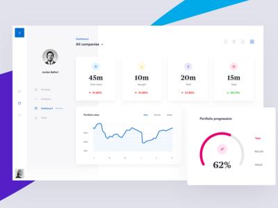 Fintech platform - Portfolio Dashboard