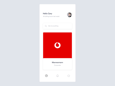 Gregoire Vella / Projects / Time Tracking App | Dribbble
