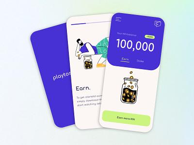 UI Design for Playtoshi App app design brand identity ui design ui  ux illustration app ui app app logo app icon branding logo design ui blues