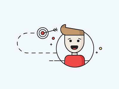 Illustration People graphics people illustration infographic
