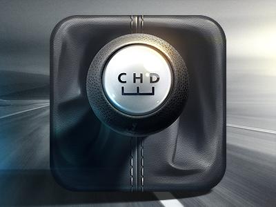 Car Dashboard & HUD Icon