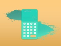 #004::Daily UI::Calculator