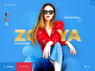 Fashion   Clothing e-commerce web design offer discount store shopping sale color bright colorful clean website ecommerce zoya clothing clothes fashion