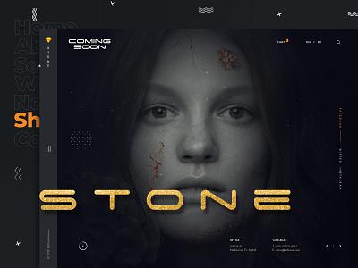 Dark eCommerce Website elegant stone website productdesign dark products shopping shopify ecommerce