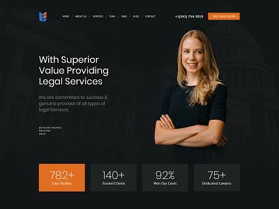 Law Firm Website modern website design dark creative case court professional solicitors advocates attorneys lawyer law