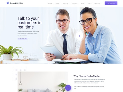 Design Agency Landing Page agency website landingpage agency branding website ecommerce design creative modern clean