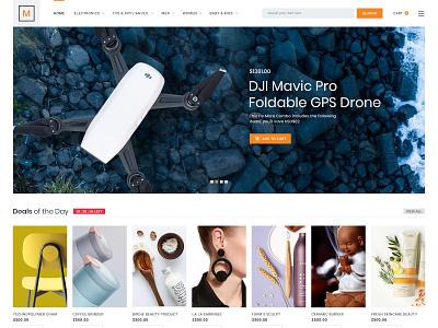 eCommerce website design store branding fashion app modern design creative clean product shopping cart shop ecommerce