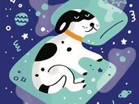 My dog in dream dimension